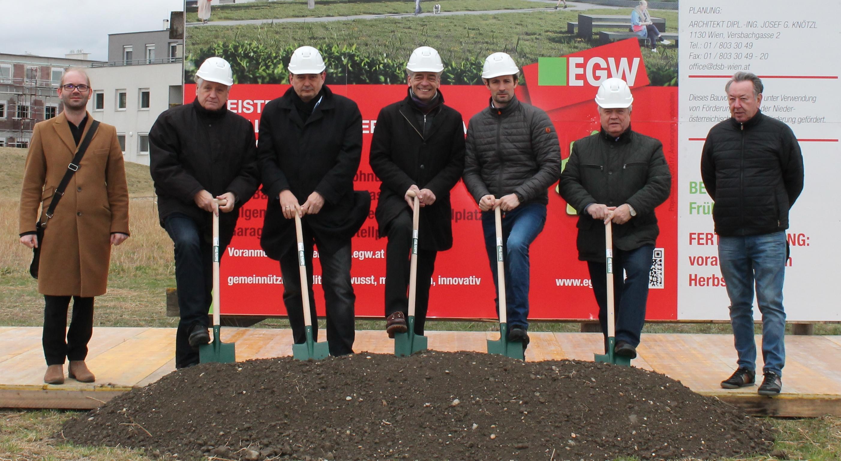 Architekt Oberhausen spatenstich für 21 geförderte mietwohnungen in oberhausen